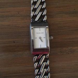 Sterling Silver Michael Kors Watch